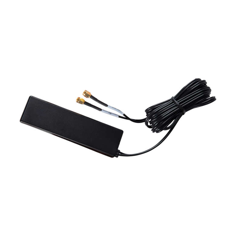 GPS+3G/4G/LTE No Drilling-Adhesive Mount Antenna for Dashboard/Windshield. 10 ft Cable & SMA. Better than MA208.A.AB.001