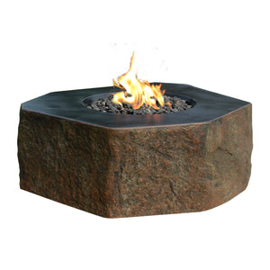 "Elementi ""Columbia"" Fire Table - Crackle Fireplaces"
