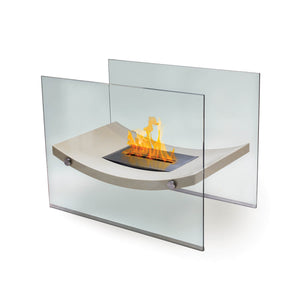 "Anywhere Fireplace ""Broadway"" Floor Standing Fireplace - Crackle Fireplaces"
