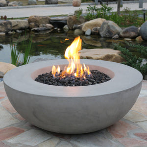 "Elementi ""Lunar"" Fire Bowl - Crackle Fireplaces"