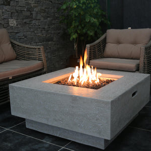 "Elementi ""Manhattan"" Fire Table - Crackle Fireplaces"