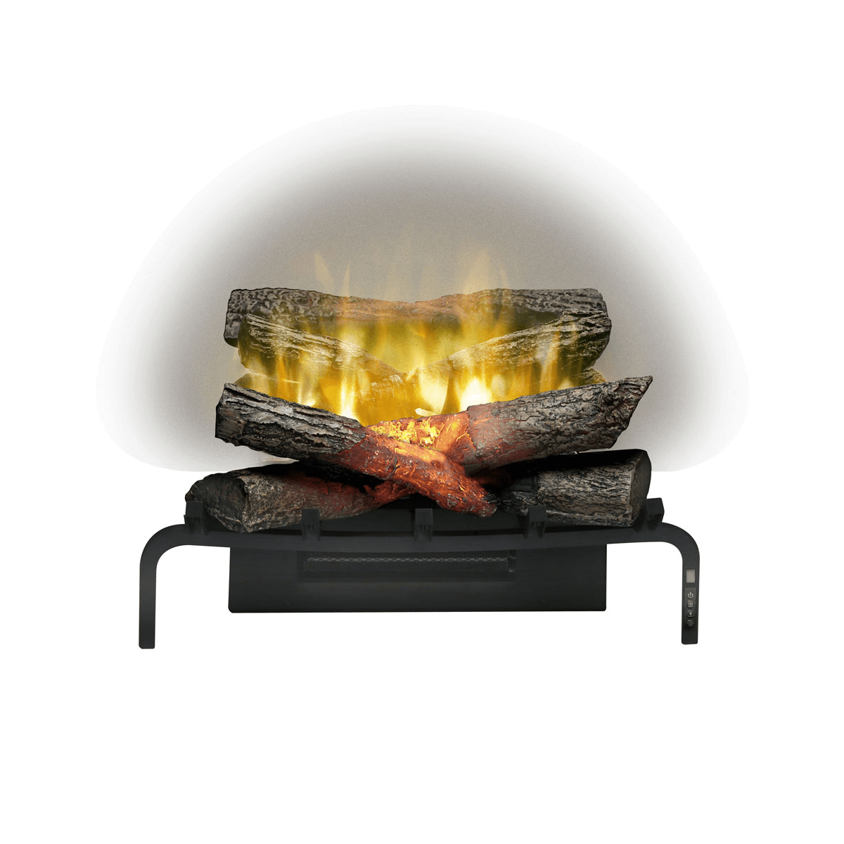 "Dimplex 20"" Revillusion Masonry Fireplace Electric Log Set - Crackle Fireplaces"