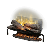 "Dimplex 25"" Revillusion Masonry Fireplace Electric Log Set - Crackle Fireplaces"