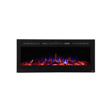 "Touchstone 50"" Sideline Recessed Fireplace - Crackle Fireplaces"