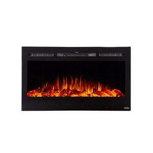 "Touchstone 36"" Sideline Recessed Fireplace"