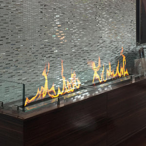 "BioFlame 38"" Fireplace Burner - Crackle Fireplaces"