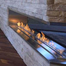 "BioFlame 60"" Fireplace Burner - Crackle Fireplaces"