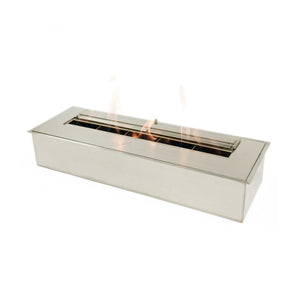 "BioFlame 24"" Fireplace Burner - Crackle Fireplaces"