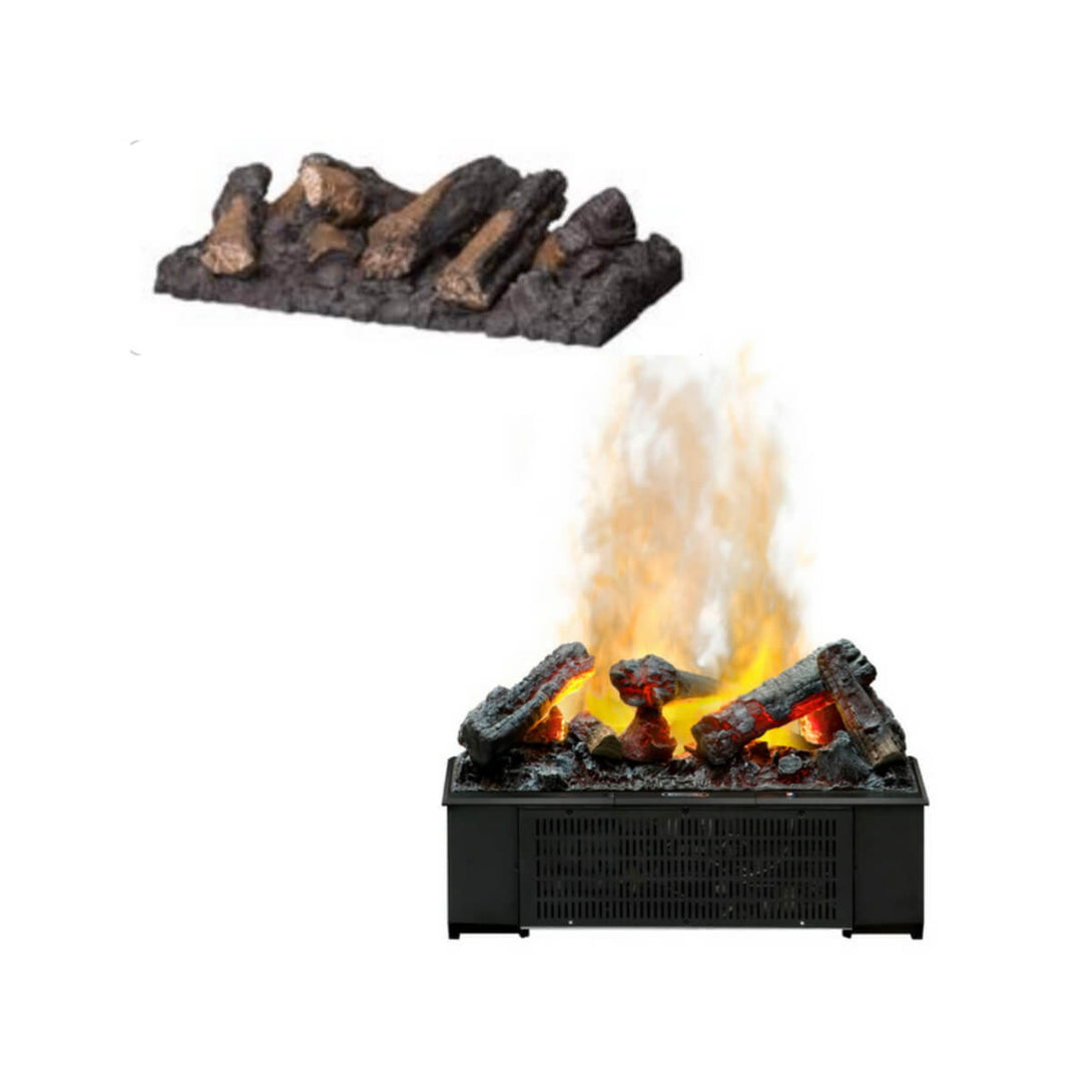 Log Set for Dimplex CDFI500P - Crackle Fireplaces