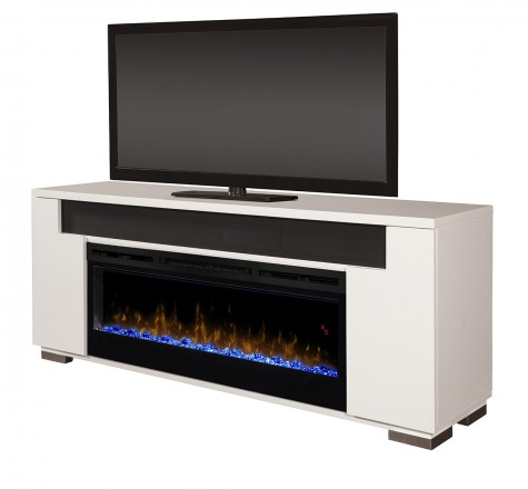 Haley Media Consoles - Crackle Fireplaces