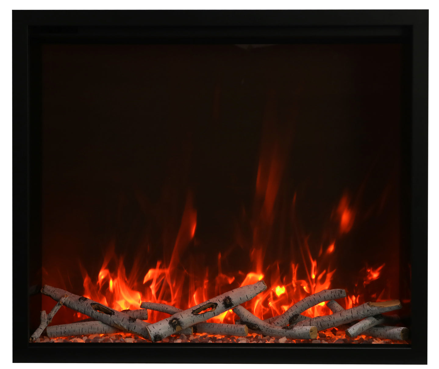Amantii TRD 44″ Traditional Series Electric Fireplace - Crackle Fireplaces
