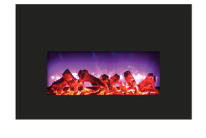 Amantii INSERT 26-3825-BG Electric Fireplace Insert - Crackle Fireplaces