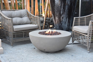 "Elementi/Modeno ""Roca"" Fire Table- Propane"
