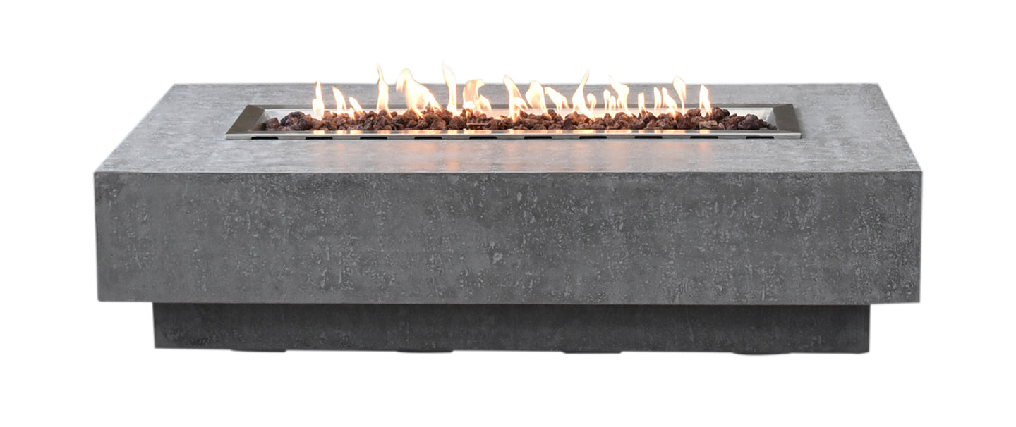 Elementi Hampton Fire Table- Propane - Crackle Fireplaces