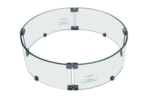 "Elementi ""Manchester"" Fire Table Windscreen - Crackle Fireplaces"