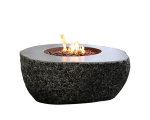 "Elementi ""Fiery Rock"" Fire Table- Propane - Crackle Fireplaces"