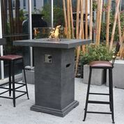 Montreal Bar Table - Crackle Fireplaces