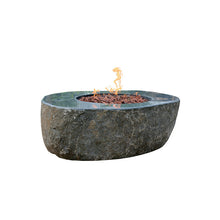 "Elementi ""Chester"" Granite Boulder Fire Table- Propane"