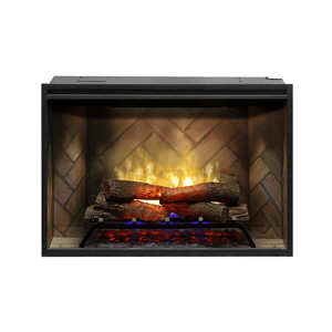 "Dimplex Revillusion 42"" Built-In Electric Log Firebox"