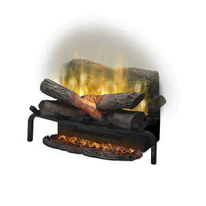Log Grate Ember Mat for Dimplex RLG20 - Crackle Fireplaces