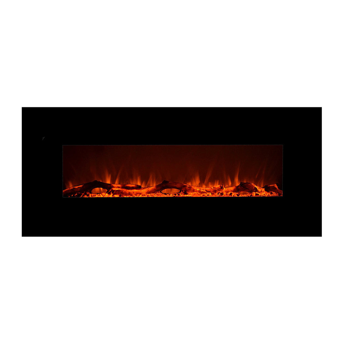 Touchstone Wall Mounted Electric Fireplace - Crackle Fireplaces