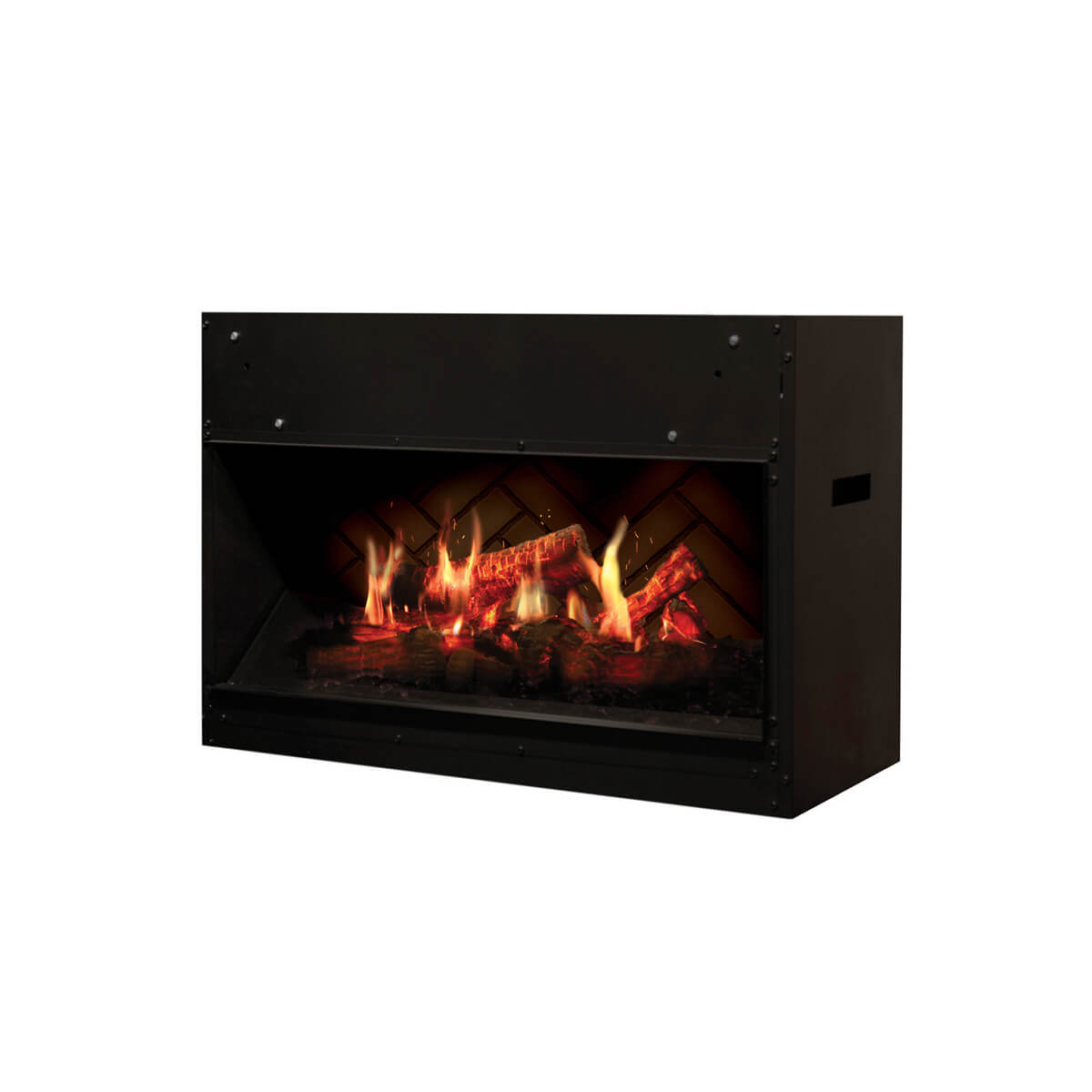 Dimplex Opti-V Solo Electric Fireplace - Crackle Fireplaces