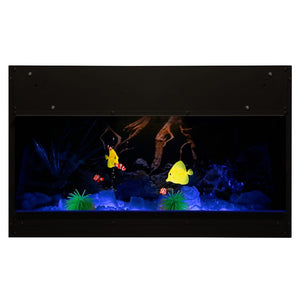 Dimplex Opti-V™ Aquarium - Crackle Fireplaces
