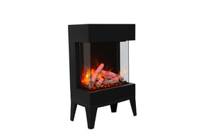 Amantii Cube 2025WM Electric Fireplace - Crackle Fireplaces