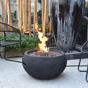 Elementi/Modeno York Fire Bowl- Propane - Crackle Fireplaces