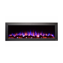 "Touchstone 50"" Sideline Outdoor/Indoor Wall Mounted Electric Fireplace - Crackle Fireplaces"