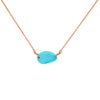 Turquoise Freeform Necklace