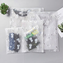 5-Size Waterproof Clothes Storage Bags Packing