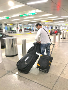 (Worldwide) RetraStrap Hands Free your carry-on luggage - Anti theft.