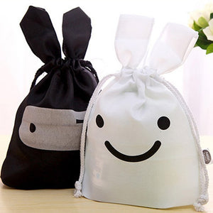 Rabbit Makeup Lunch Travel Storage Bag Pouch Pen