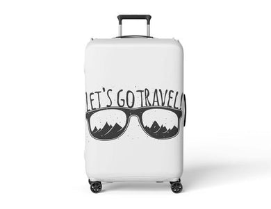 Travel Print Luggage Cover Luggage Wrap Travel
