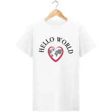 T-Shirt Homme Bio Hello World | C mon T-shirt