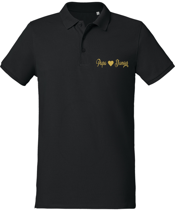 Polo Homme Papa d'Amour