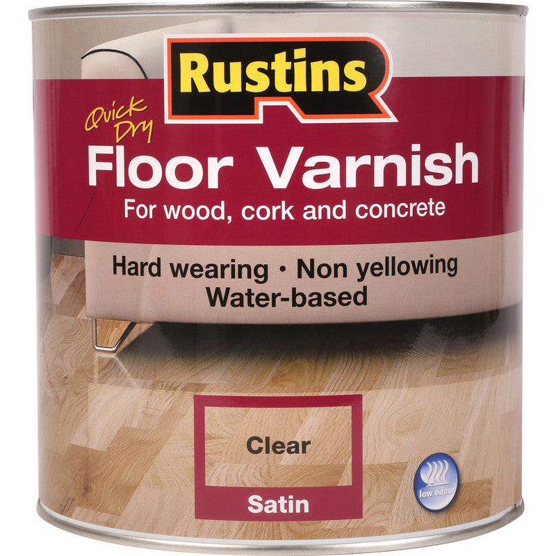 Acrylic Floor Varnish Satin