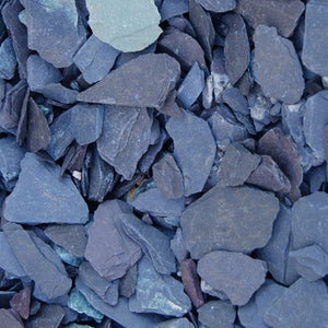 40mm Blue Slate decorative stone
