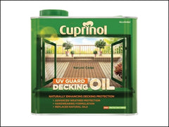 UV Guard Decking Oil Natural Cedar 2.5 Litre