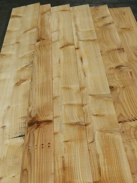 British Timber Cedar, Larch, Oak-  Claddings/ Fencing/ Waney/Live edge and Feather edge