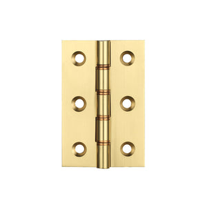 "75mm 3"" No.451B Strong Ball Bearing Butt Hinges Electro Brass"
