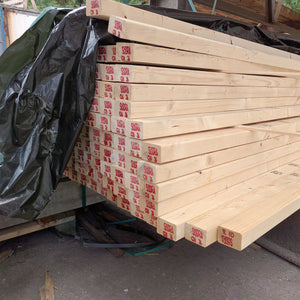 Clean KD reg C24 Carcassing Joist untreated