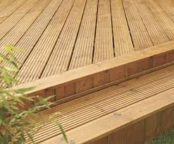 Treated Decking Boards
