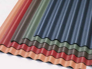 Onduline Black/Green/Red Roofing Sheet 2000x950