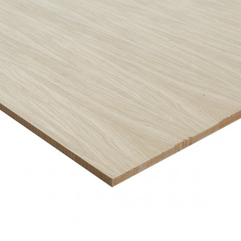 Oak Veneered MDF unfinished and Lacquered 2440 x 1220 Various Thicknesses