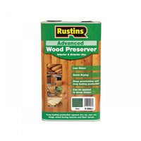Rustins Quick Dry Advanced Wood protector green 5L