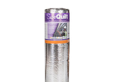 YBS SuperQuilt Multi Foil 40mm 15m2 roll BBA approved LABC registered