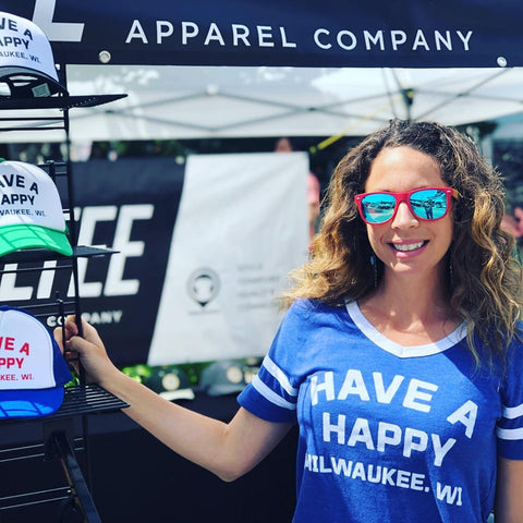 Have A Happy Milwaukee, WI Vintage Jersey Tee