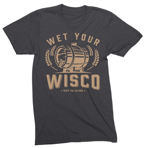 Wet Your Wisco Unisex Triblend Tee - GILTEE
